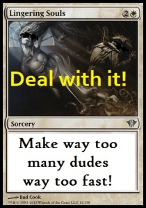 deal with it lingering