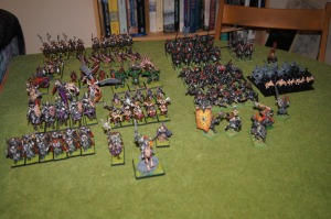The time it takes to build and paint all these units should give you a good 10 years off!