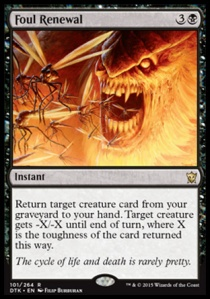 This card shouldn't exist. Removal and GY recursion at instant for less than 6 mana?!